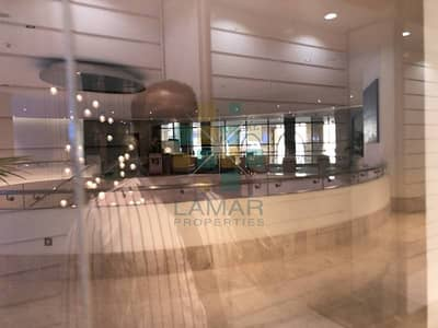 Shop for Rent in Jumeirah Beach Residence (JBR), Dubai - in 5* hotel corner covered retail space on podium level