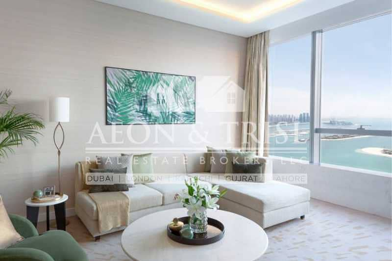 Furnished Studio   The Palm Tower   Handover Soon