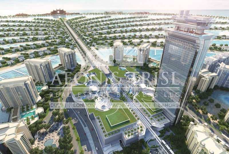 14 Furnished Studio   The Palm Tower   Handover Soon