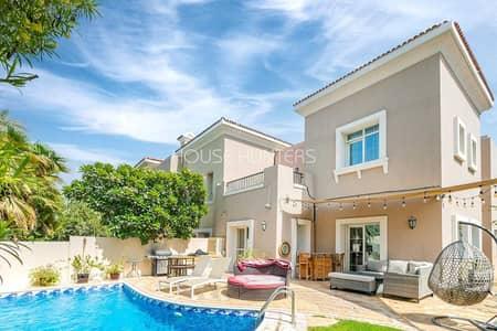 فیلا 3 غرف نوم للبيع في المرابع العربية، دبي - Upgraded | Private Pool | Type 1E | Al Reem