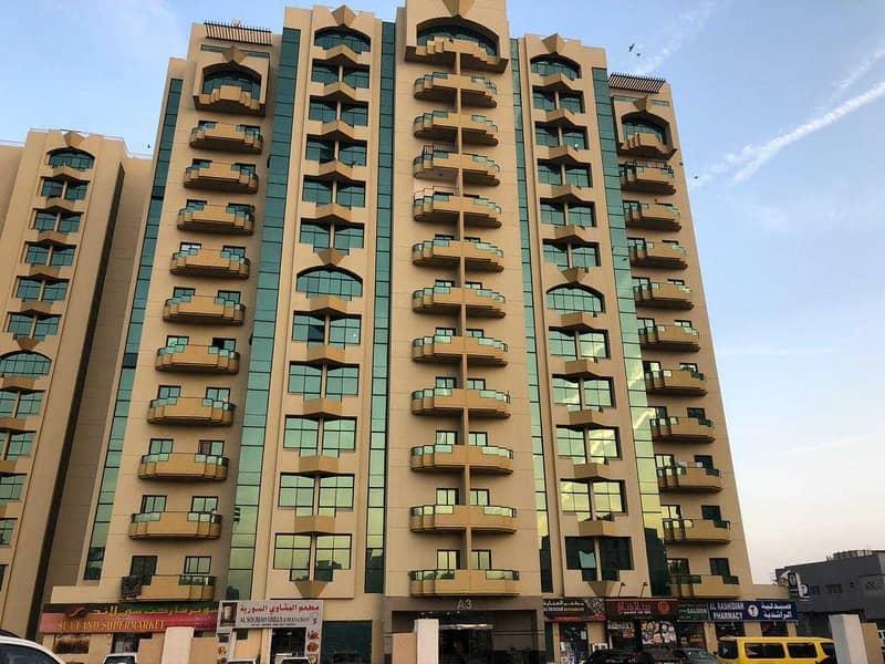 2 BHK Rashidiya Tower 25000/- 4 & 6 Cheques For RENT