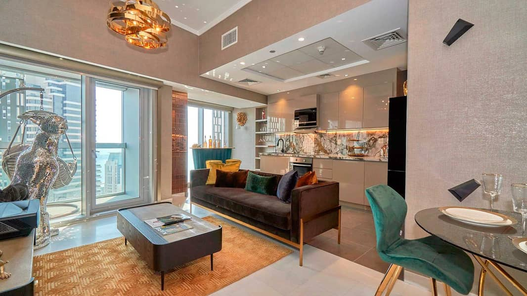 Upgraded Furnished Home with Marina View
