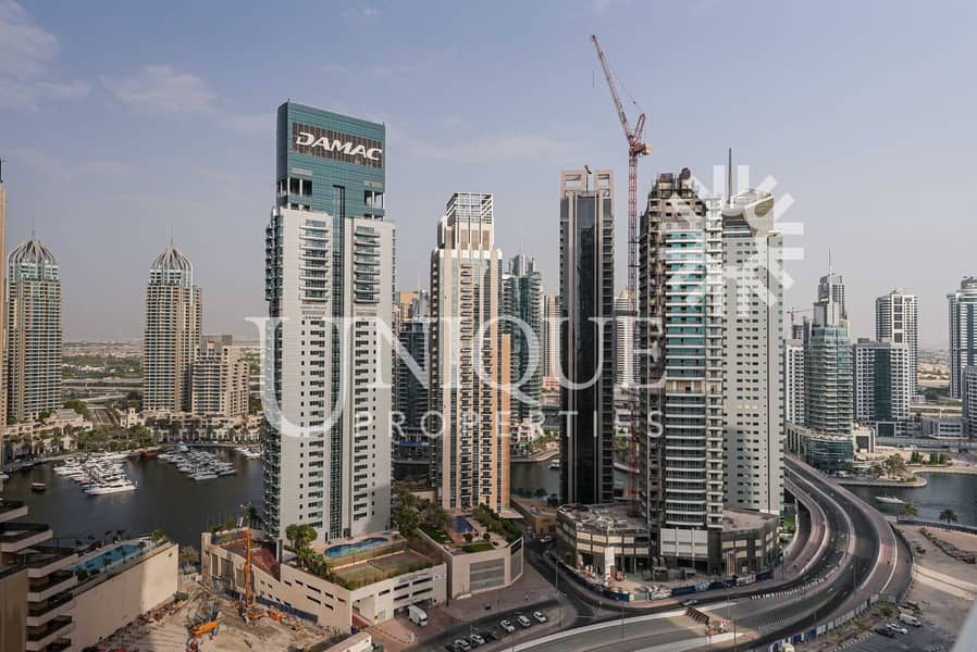 Furnished Studio | High Floor with Sea View