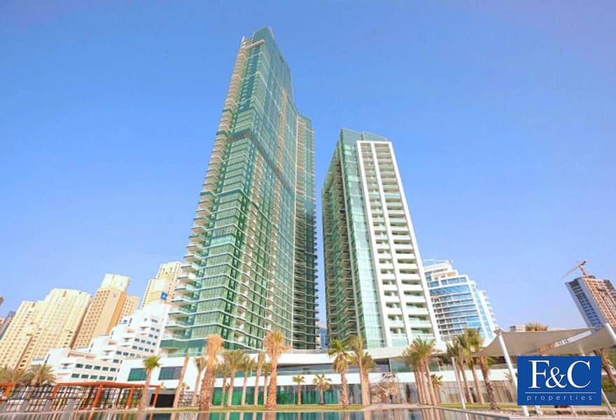28 Large Unit | 2BR+Maids | High Floor | Sea View