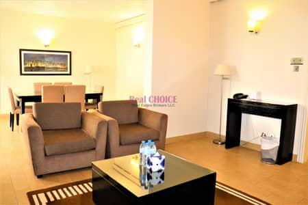 شقة فندقية 3 غرف نوم للايجار في مركز دبي التجاري العالمي، دبي - 3BR Furnished Hotel Apartment | Near Metro Station