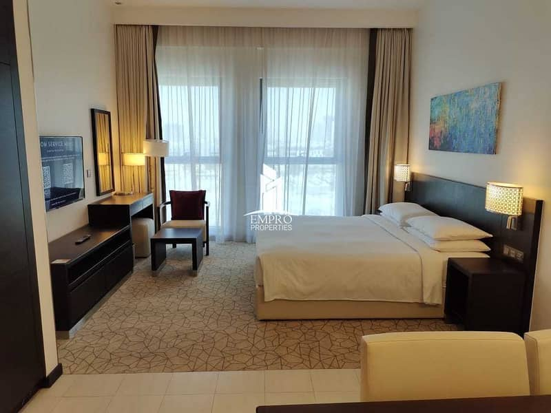 All bills included, fully furnished & equipped hotel apartments