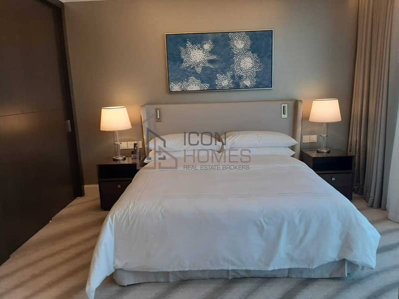 LUXURIOUS FULLY FURNISHED 1BR   STUNNING FOUNTAIN VIEW