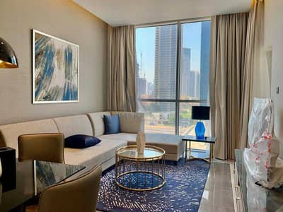 2 Bedroom Flat for Rent in Business Bay, Dubai - Fully Furnished   Balcony   Near Dubai Mall