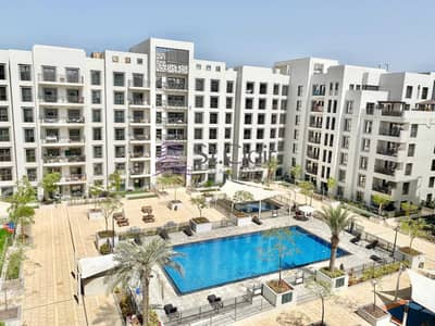 2 Bedroom Flat for Sale in Town Square, Dubai - Pool View | Rented Unit 2 Bedroom in Zahra