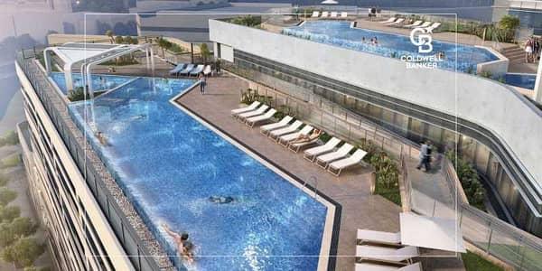 شقة فندقية 1 غرفة نوم للبيع في مدينة دبي للإعلام، دبي - Brand New | Full Sea view | 5yrs Payment Plan