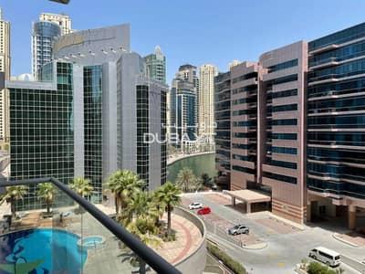 1 Bedroom Flat for Sale in Dubai Marina, Dubai - 1 B/R + Balcony, Unfurnished, Marina View, The Waves A