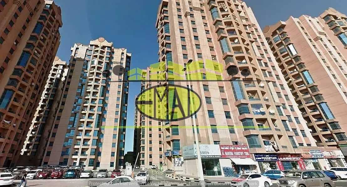 شقة في أبراج النعيمية النعيمية 1 غرف 15000 درهم - 4843054