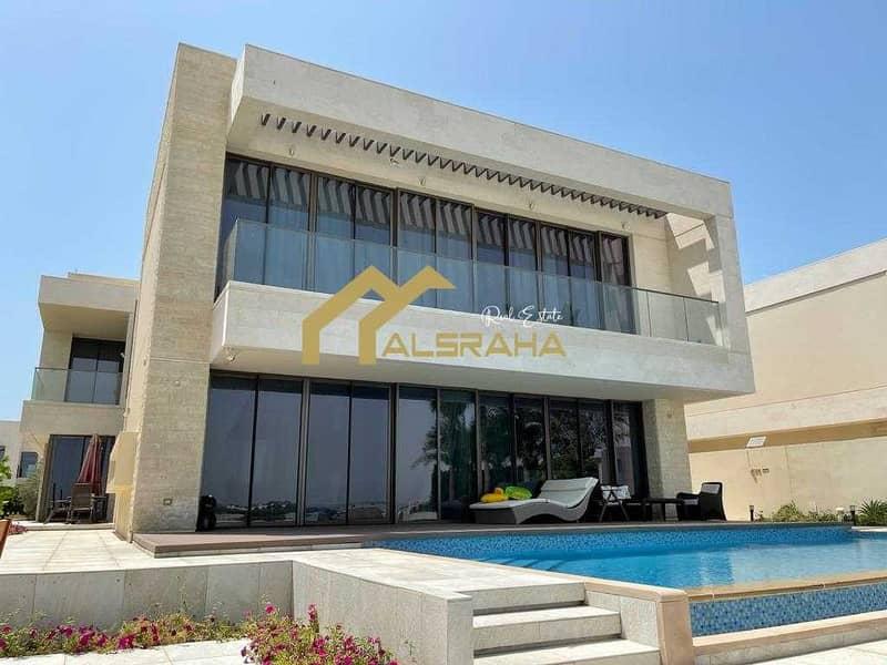 For sale villa in (Saadiyat Island - HIDD Al Saadiyat) Type 5A