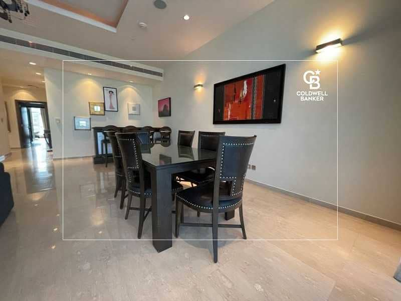 2 Vacant  Sea View High Floor Furnished apt