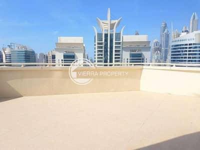 شقة 2 غرفة نوم للبيع في أبراج بحيرات الجميرا، دبي - Marina View   Big Terrace   2BR Lakeshore tower