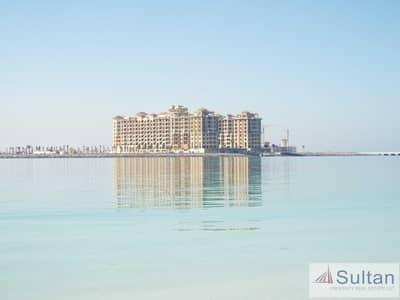 فلیٹ 1 غرفة نوم للايجار في جزيرة المرجان، رأس الخيمة - Sea View 1 BR in Marjan Island Resort SPA