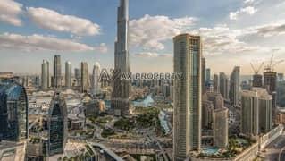 Luxurious Apartment | Full view of Burj Khalifa | All Bills Included