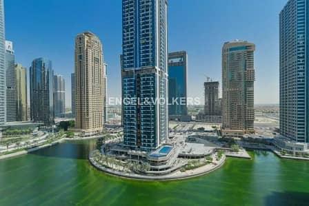 2 Bedroom Flat for Rent in Jumeirah Lake Towers (JLT), Dubai - Bigger Unit   Lake View    Bright Unit