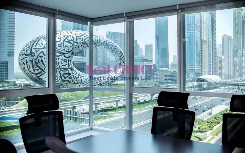 High Quality Fully Furnished Office Prime Location