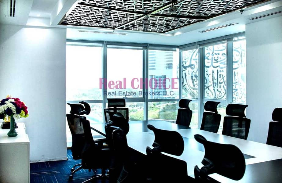 2 High Quality Fully Furnished Office Prime Location