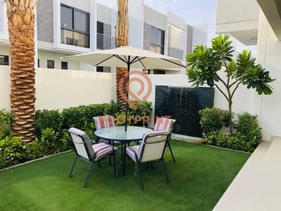4 Bedroom Townhouse for Sale in DAMAC Hills 2 (Akoya Oxygen), Dubai - 4Br TH- Maids Room- Ready- No Commission