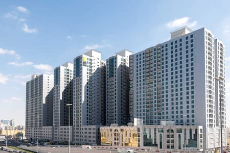 1 Bedroom Flat for Sale in Al Nuaimiya, Ajman - READY TO MOVE 1 BHK IN CITY TOWER WITH D. P 38,000/- AND REST IN EASY MONTHLY PAYMENT