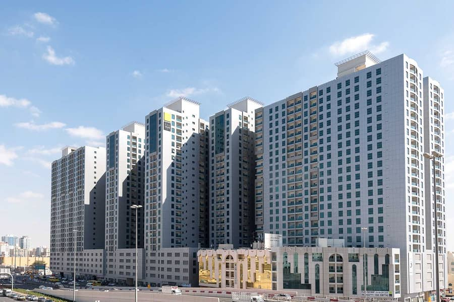 READY TO MOVE 1 BHK IN CITY TOWER WITH D. P 38,000/- AND REST IN EASY MONTHLY PAYMENT