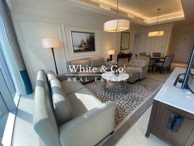 2 Bedroom Flat for Rent in Downtown Dubai, Dubai - High Floor   Immaculate   Large Layout