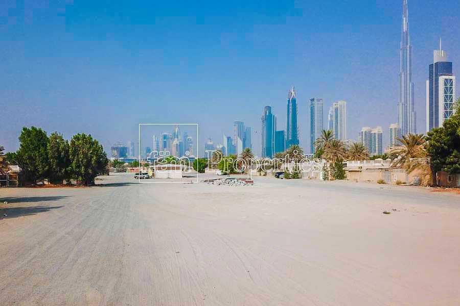 FREEHOLD Plot | B+G+1 | Burj Khalifa View