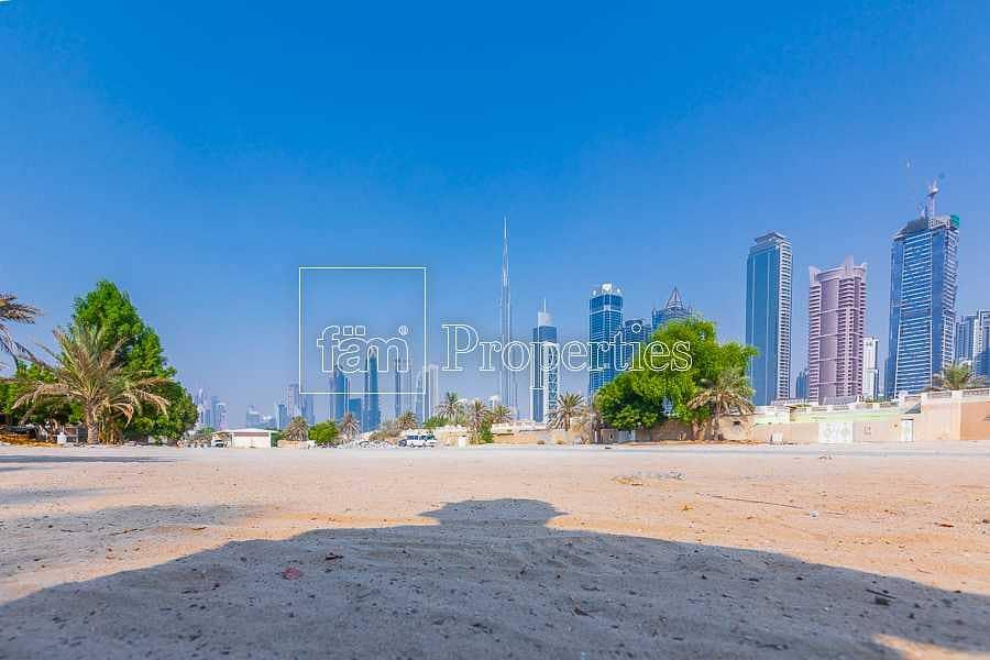 10 FREEHOLD Plot | B+G+1 | Burj Khalifa View