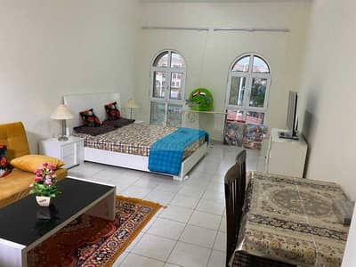Studio for Sale in Discovery Gardens, Dubai - Rented  Studio Fully Furnished Swimming pool view