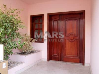 6 Bedroom Villa for Rent in Al Khalidiyah, Abu Dhabi - SPACIOUS 6 BEDROOM VILLA WITH MAID ROOM AND BIG YARD / GOOD LOCATION.