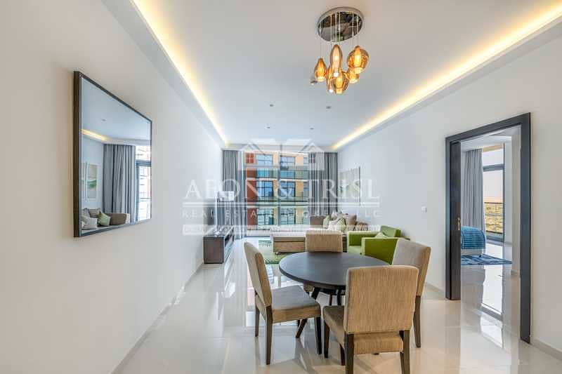 Brand New   Fully Furnished 1 Bed   Vacant