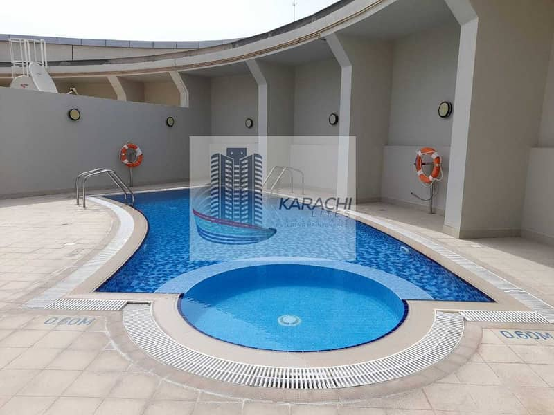 3 BEDROOMS APARTMENT WITH MAIDS ROOM INCLUDING ALL FACILITIES AL MUROOR