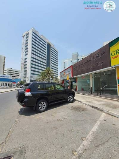 Shop for Rent in Al Nabba, Sharjah - 2 DOORS SHOP WITH 970SQFT. IN NABBA AREA ALONG THE CLOCK TOWER R/A