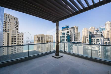 3 Bedroom Flat for Rent in Dubai Marina, Dubai - Fully Furnished and Upgraded Luxury Marina View Apartment.