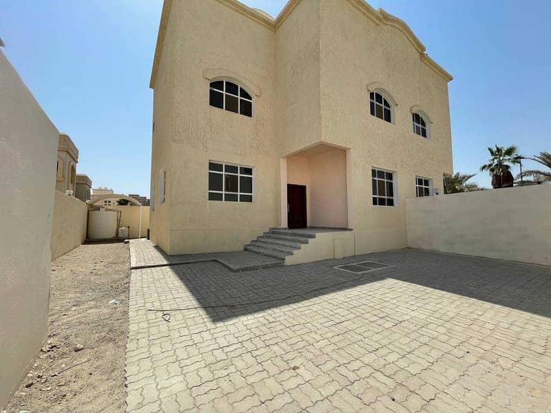 New villa with privet entrance , near mazyed mall