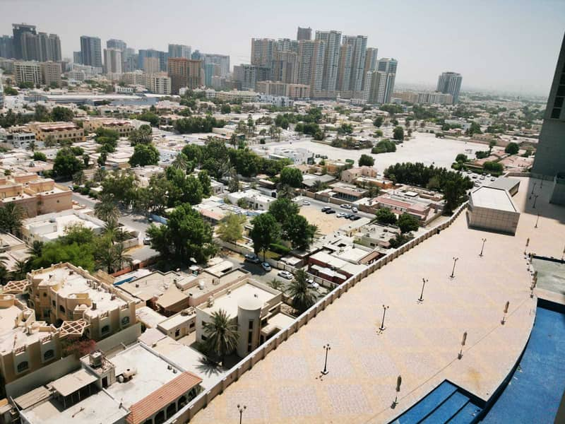 MINDBLOWING OFFER 2BHK CITY VIEW AVAILABLE FOR RENT CORNICHE RESIDENCE TOWER AJMAN