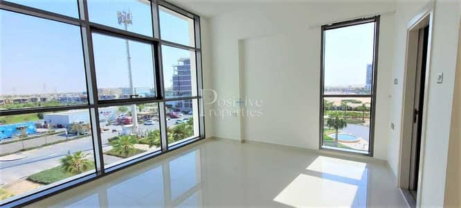 1 Bedroom Flat for Rent in DAMAC Hills (Akoya by DAMAC), Dubai - DIRECT PARK VIEW | CORNER | OPPOSITE TO CARREFOUR