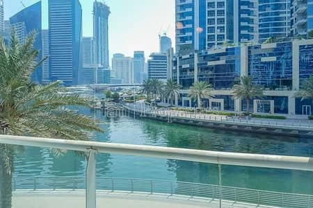شقة 2 غرفة نوم للايجار في دبي مارينا، دبي - Great view|Spacious|Bright| Maid + Study