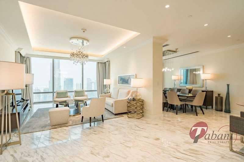 Luxurious Penthouse  Burj View  All bills inclusive