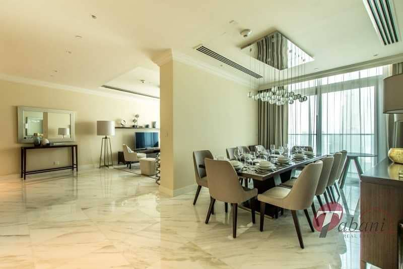 2 Luxurious Penthouse  Burj View  All bills inclusive