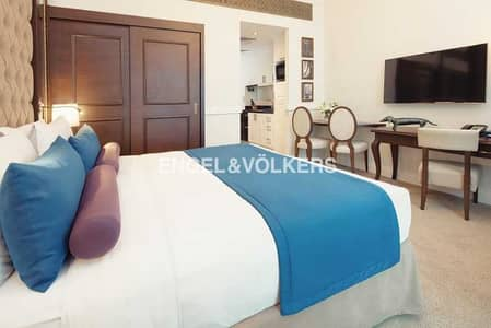 Hotel Apartment for Rent in Palm Jumeirah, Dubai - Serviced Deluxe Studio | All Bills Included
