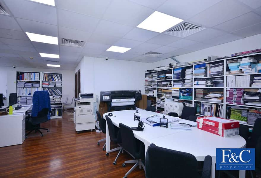 2 Office   Well Maintained   Vacant on September