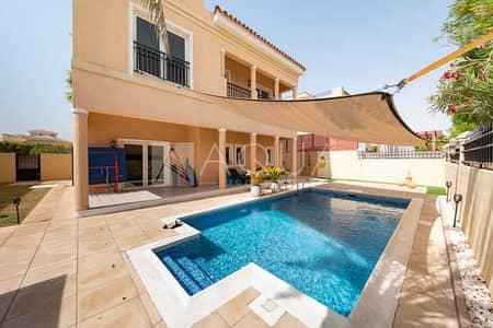 5 Bedroom Villa for Rent in The Villa, Dubai - Available Oct | Private Pool | A1 | Hacienda