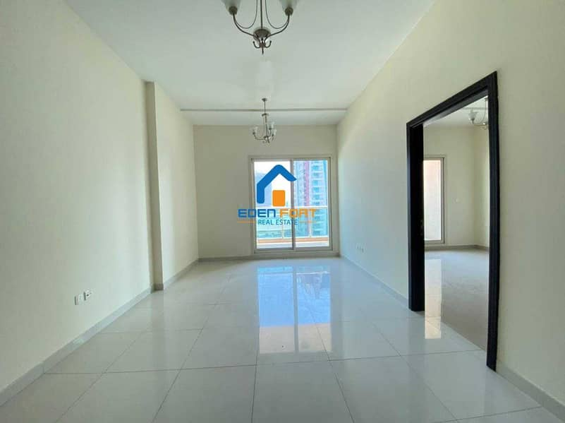 AMAZING OFFER UNFURNISHED 1BHK IN SPORTS CITY