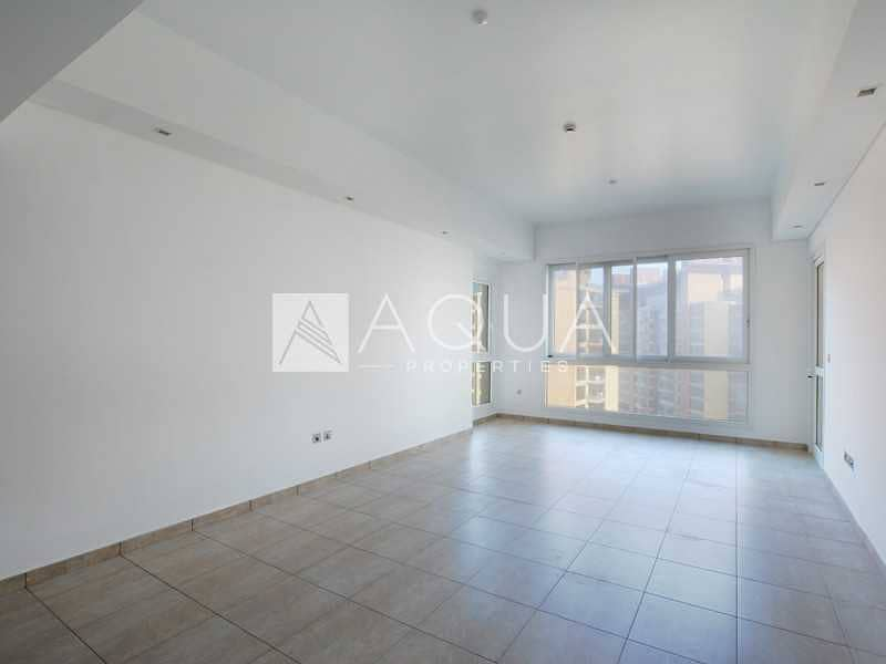 High Floor | Partial Sea View | Unfurnished