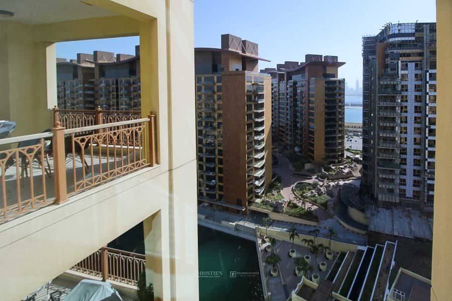 10 2 bed C type|High floor|Unfurnished |Maid's room