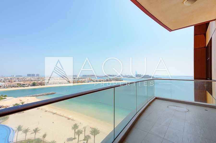 Stunning Sea View | Unfurnished | Balcony