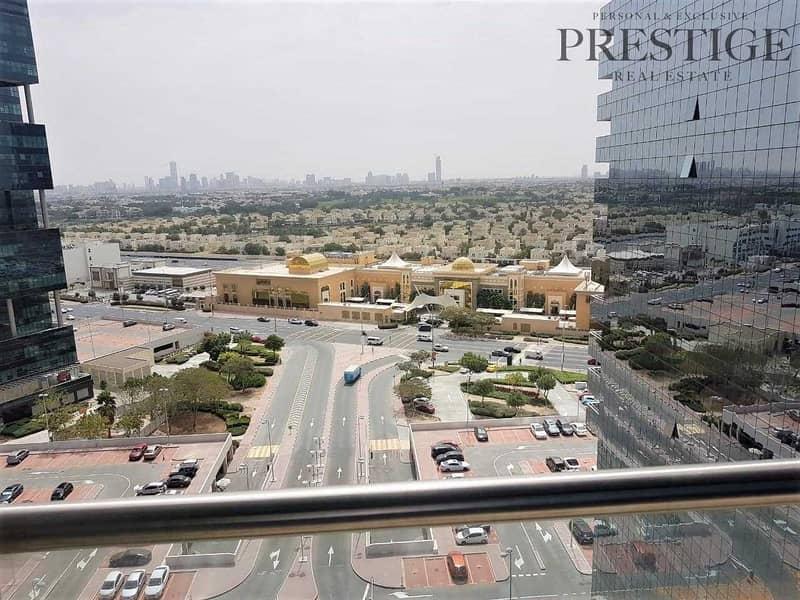 Goldcrest Views 1| Studio| Unfurnished |With balcony